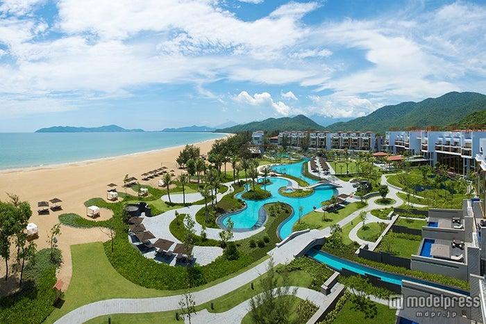 南シナ海に面したダナンのリゾートホテル「Angsana Lang Co」/画像提供:Angsana Lang Co