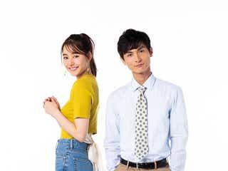 新木優子&高良健吾「モトカレマニア」衣装の2ショット初解禁