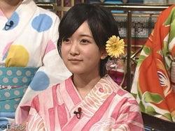 NMB48須藤凜々花「チューしたい」浴衣姿で『さんま御殿!!』初登場