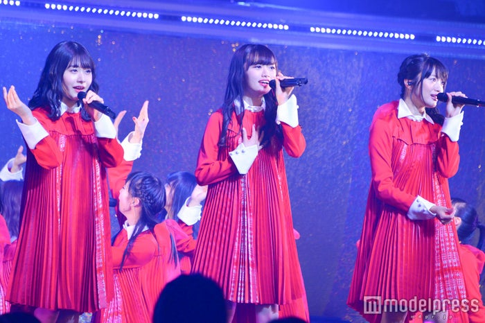加藤美南、中井りか、北原里英「NGT48単独コンサート~未来はどこまで青空なのか?~」(C)モデルプレス