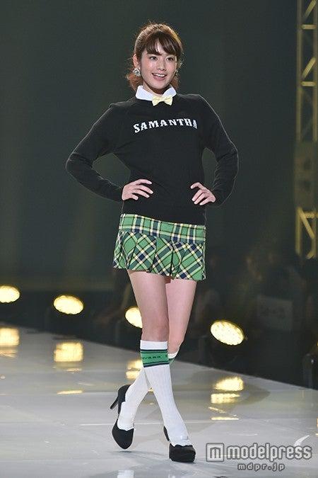 「神戸コレクション2015 A/W」に出演した筧美和子【モデルプレス】