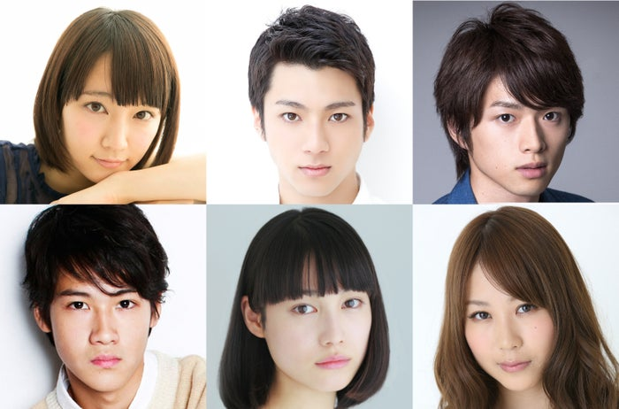 (左上から時計回りに)吉岡里帆、白洲迅、山田裕貴、西田麻依、中村ゆりか、葉山雅之(C)TBS