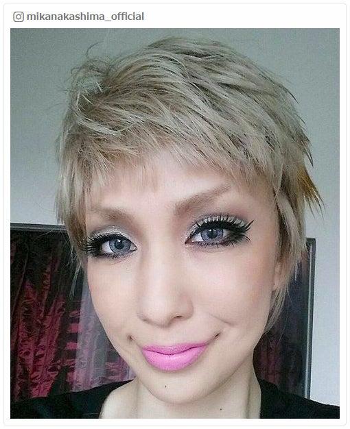 中島美嘉、金髪ベリーショート姿公開 変幻自在のヘアメイクに驚きの声/Instagramより