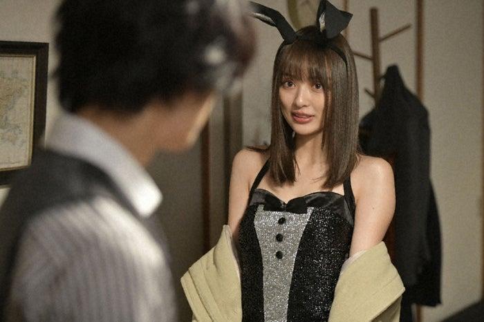 内田理央/「来世ではちゃんとします」第6話より(C)「来世ではちゃんとします」製作委員会