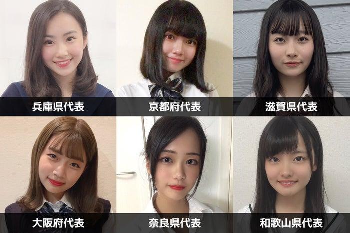 「女子高生ミスコン2019」関西エリアの代表者が決定