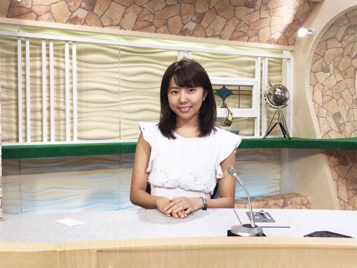 中村麻里子アナウンサー(C)SUN-TV