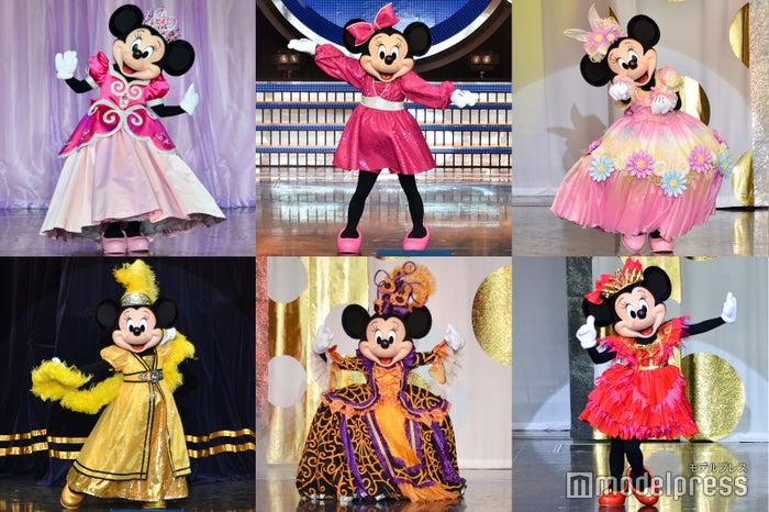 ミニーが歴代コスチュームで登場 TDL今年度限定レビューショーがすごい<イッツ・ベリー・ミニー!/写真特集>(C)モデルプレス(C)Disney