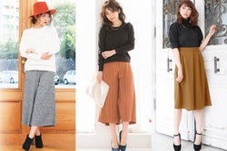 男性が選ぶ!女子に着て欲しい秋冬ガウチョパンツコーデ/画像提供:神戸レタス【モデルプレス】