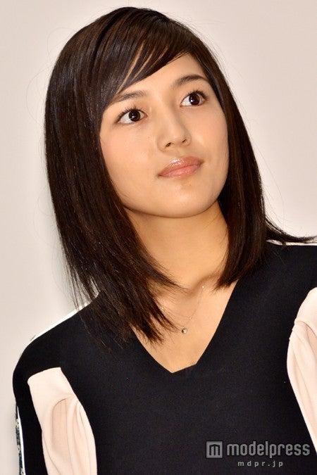 映画「幕末高校生」初日舞台挨拶に出席した川口春奈