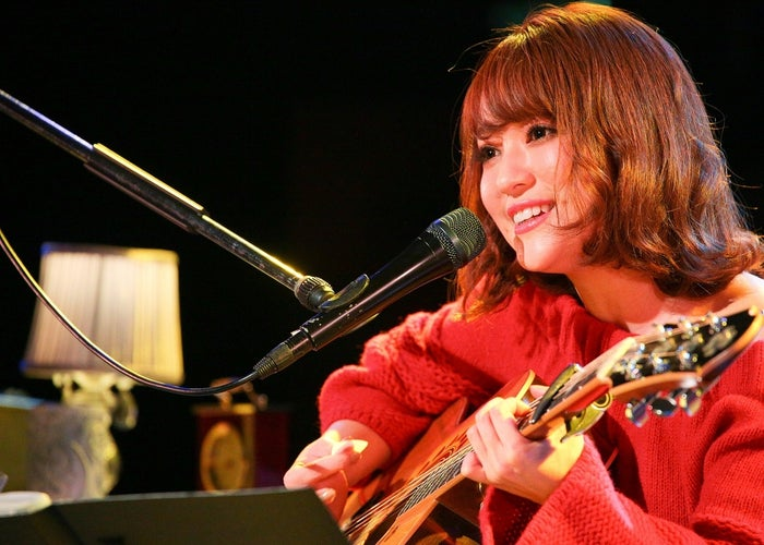 「chay's room vol.4 ~One mic,One guitar~」を開催したchay/写真:渡邉一生