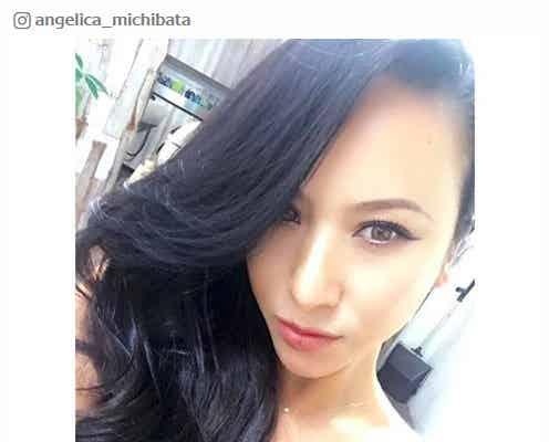 道端アンジェリカ、黒髪に大幅イメチェン「綺麗」「アジアンビューティー」の声