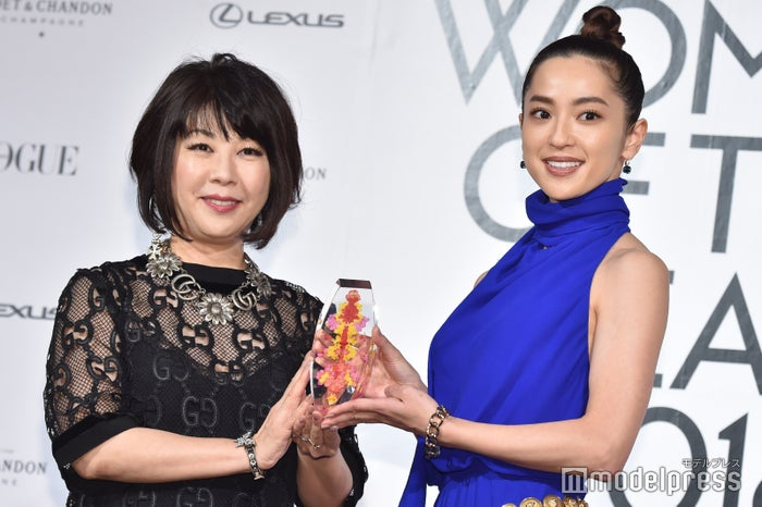 中村アン、受賞の瞬間 (C)モデルプレス