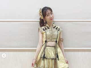 柏木由紀「10年桜」「フライングゲット」当時の衣装でダンス「懐かしい」「エモい」とファン歓喜