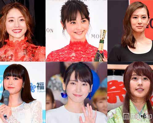 """10代女子が選ぶ""""この顔に整形したい""""女性有名人20人を発表"""