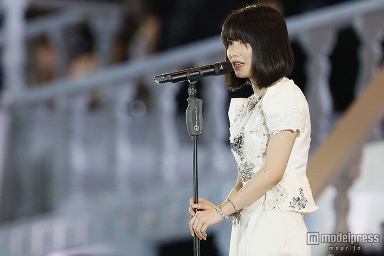 AKB48横山由依、次期総監督の野望「夢を見続けられるよう…」<第7回AKB48選抜総選挙>(C)AKS【モデルプレス】