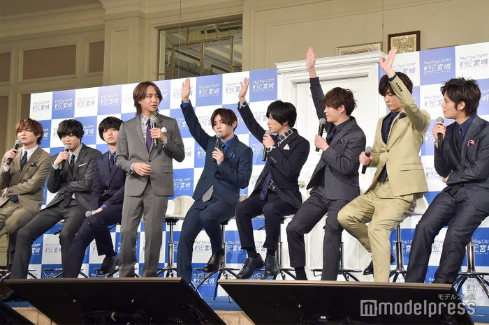 Hey! Say! JUMP (C)モデルプレス