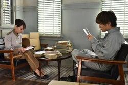 戸田恵梨香、岩田剛典/「崖っぷちホテル!」第2話より(C)日本テレビ
