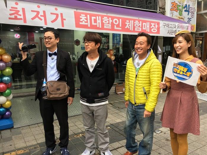 (左から)岡安章介、さまぁ~ず、大島麻衣/画像提供:テレビ愛知