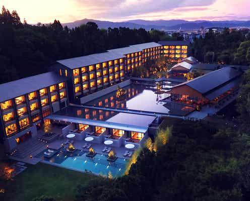 京都「ROKU KYOTO,LXR Hotels&Resorts」自然に溶け込むスパ&天然温泉プールで癒しの時間を