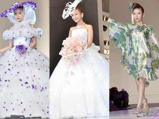大石参月、ウエディングドレス3変化で魅了