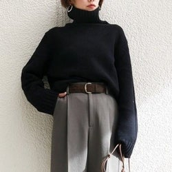 着るだけで即細見え&おしゃれに見える!「黒」が主役の冬コーデ