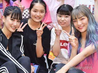 E-girls藤井夏恋&須田アンナ、ファンにダンスエクササイズ指導 美肌&美髪の秘訣も伝授<イベントレポ>