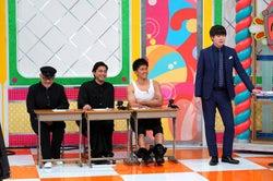 (左から)青木宏行、山田孝之、武井壮、村本大輔 (C)日本テレビ