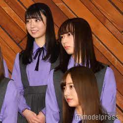 阪口珠美、鈴木絢音、梅澤美波 (C)モデルプレス