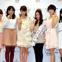 「まつげ美人選手権2012」の最終選考会