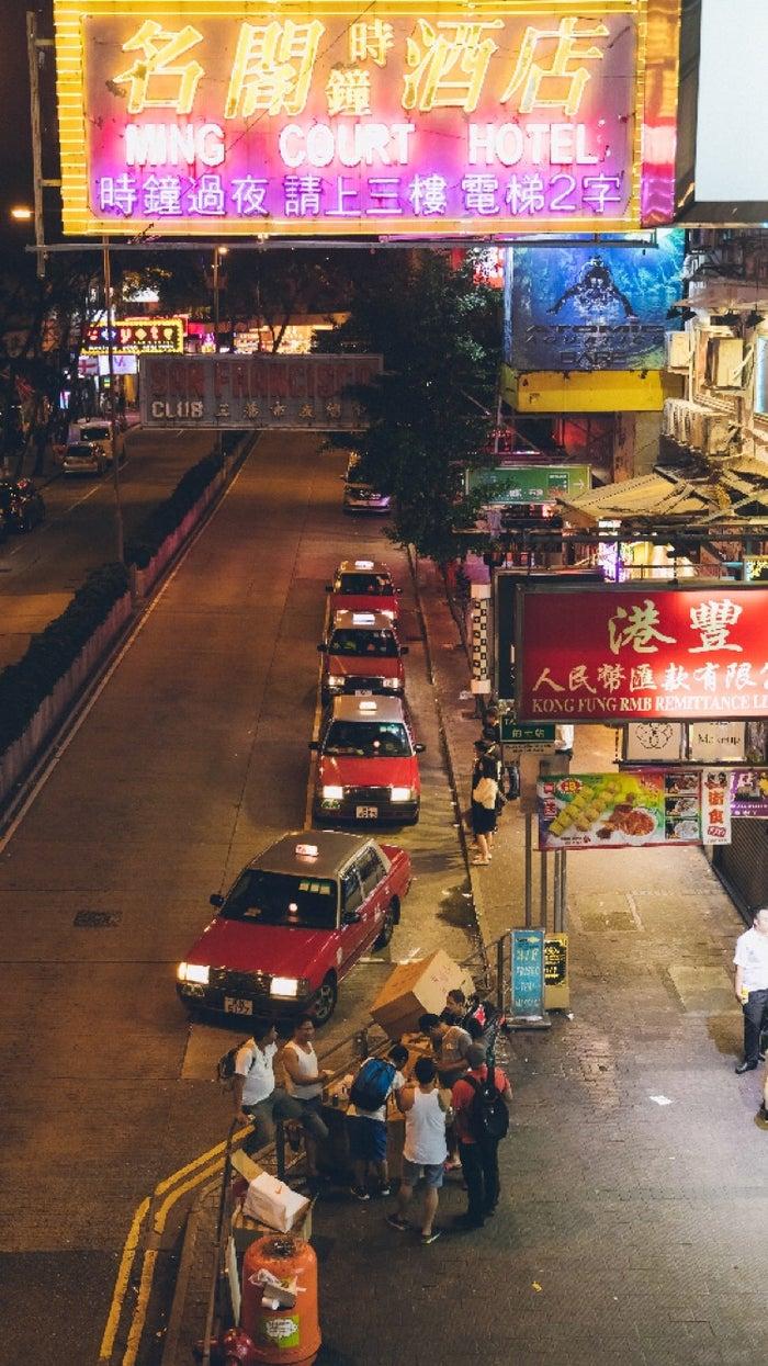 香港の夜の風景/画像提供:藤森慎吾Instagramより