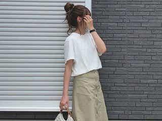 ホワイトTシャツの万能さを生かす! 合わせたいベーシックカラーアイテム4選