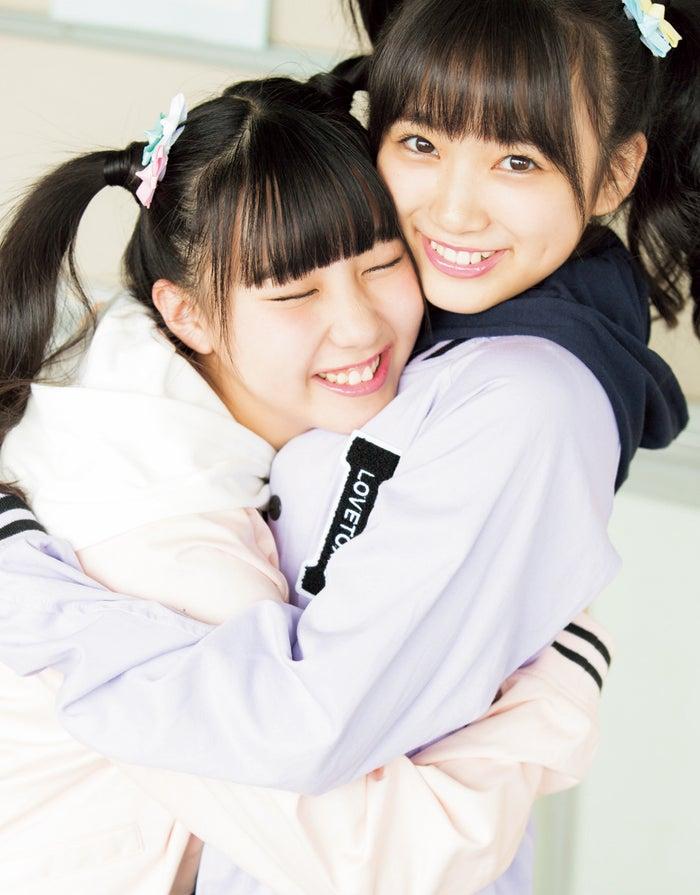 (左から)田中美久、矢吹奈子(画像提供:徳間書店)