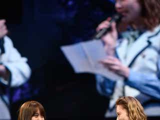 AKB48島崎遥香、永尾まりや卒業コンサートで涙 デビュー初期の苦悩と絆<メッセージ全文>