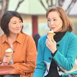 松下由樹、夏樹陽子/「G線上のあなたと私」第6話より(C)TBS