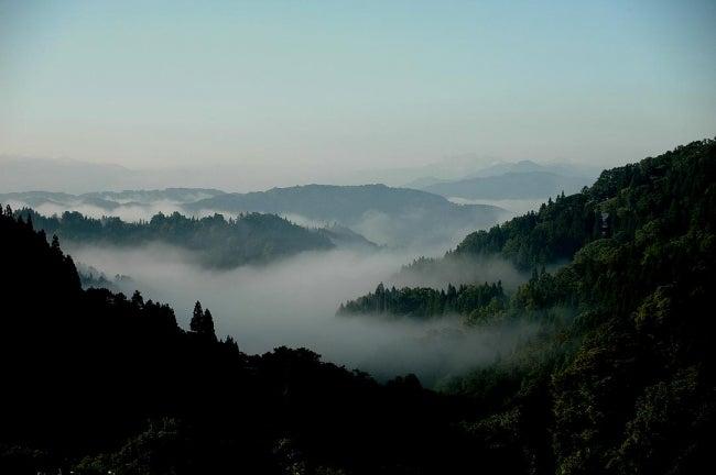 「信州むしくらの湯 やきもち家 季の山・雲海・かやぶきの宿」雲海