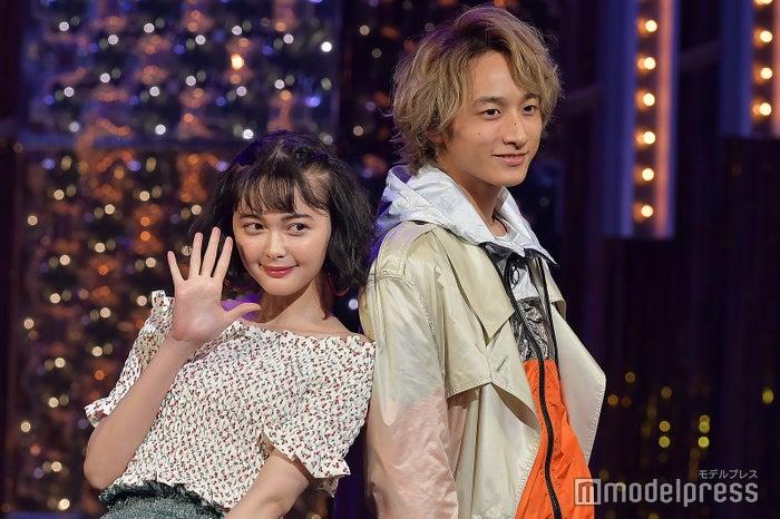 「ViVi Night in TOKYO 2018 KIRA KIRA PARTY SPRING」に出演した玉城ティナ、小関裕太 (C)モデルプレス
