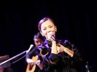 華原朋美「前を向いた話が出来る私になりたい」。デビュー記念日に初Billboard Live、12月に最新カヴァー・アルバム発売決定
