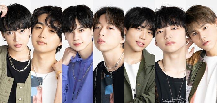 デビューメンバーに決定した7人 (提供写真)