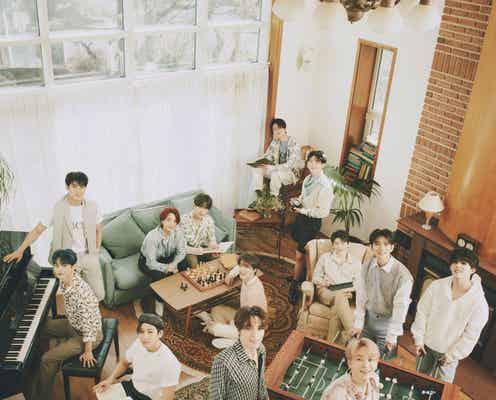 SEVENTEEN、グループ初コンセプトフォトブック日本でリリース決定 表紙カット初公開<SOCIAL CLUB:CARAT>