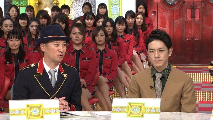 中居正広&滝沢秀明(C)TBS