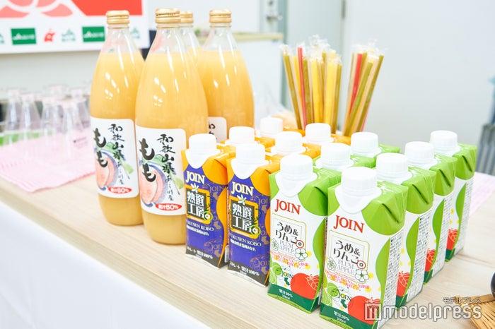 国産フルーツを使ったジュースも充実 (C)モデルプレス