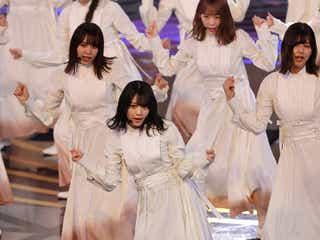 櫻坂46、紅白リハ登場 「Nobody's fault」披露<紅白リハ1日目>