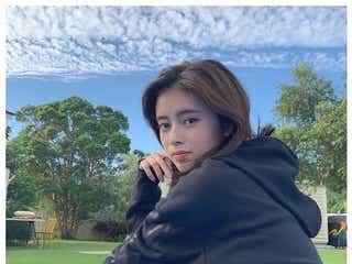 NiziUリマ、マコ撮影のナチュラルな美貌に「顔が映え」「天使だ」の声