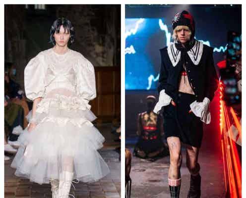 ロンドン・ファッションウィーク・セプテンバー2021 パーソナルな思いを投影したドラマチックな服