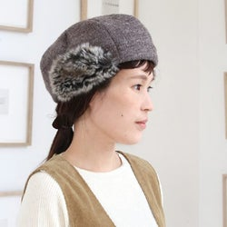 取り入れるだけで即おしゃれ♡冬コーデに加えたい帽子特集