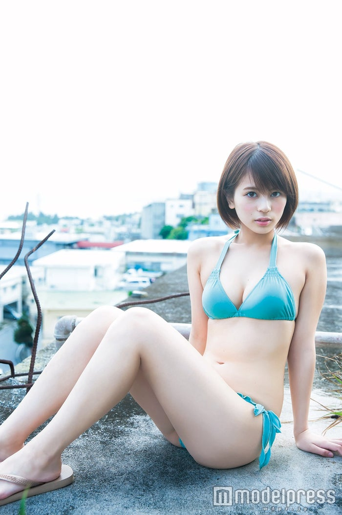 吉崎綾(「週刊ヤングジャンプ」/撮影:桑島智輝)