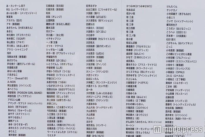「吉本坂46」第一次審査合格者 (C)モデルプレス