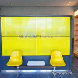 2018年9月に開業した渋谷のMUSTARD HOTEL(C)モデルプレス