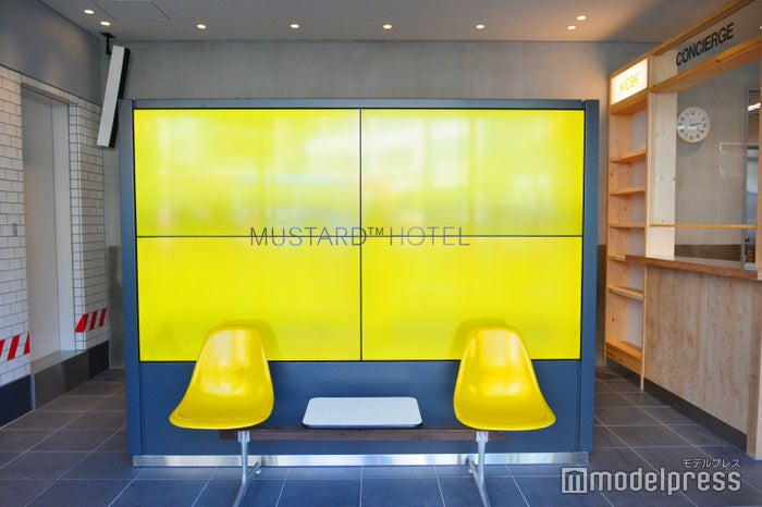 2018年9月に開業した渋谷のMUSTARD HOTEL(C)ビューティーガール