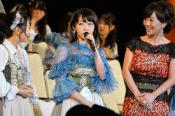 結婚発表で大混乱の会場 NMB48須藤凜々花のスピーチ直後に峯岸みなみらが見せた対応力<第9回AKB48選抜総選挙>